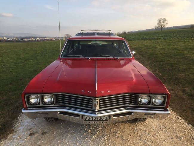 estate Buick Skylark Sportwagon 340-4, V8