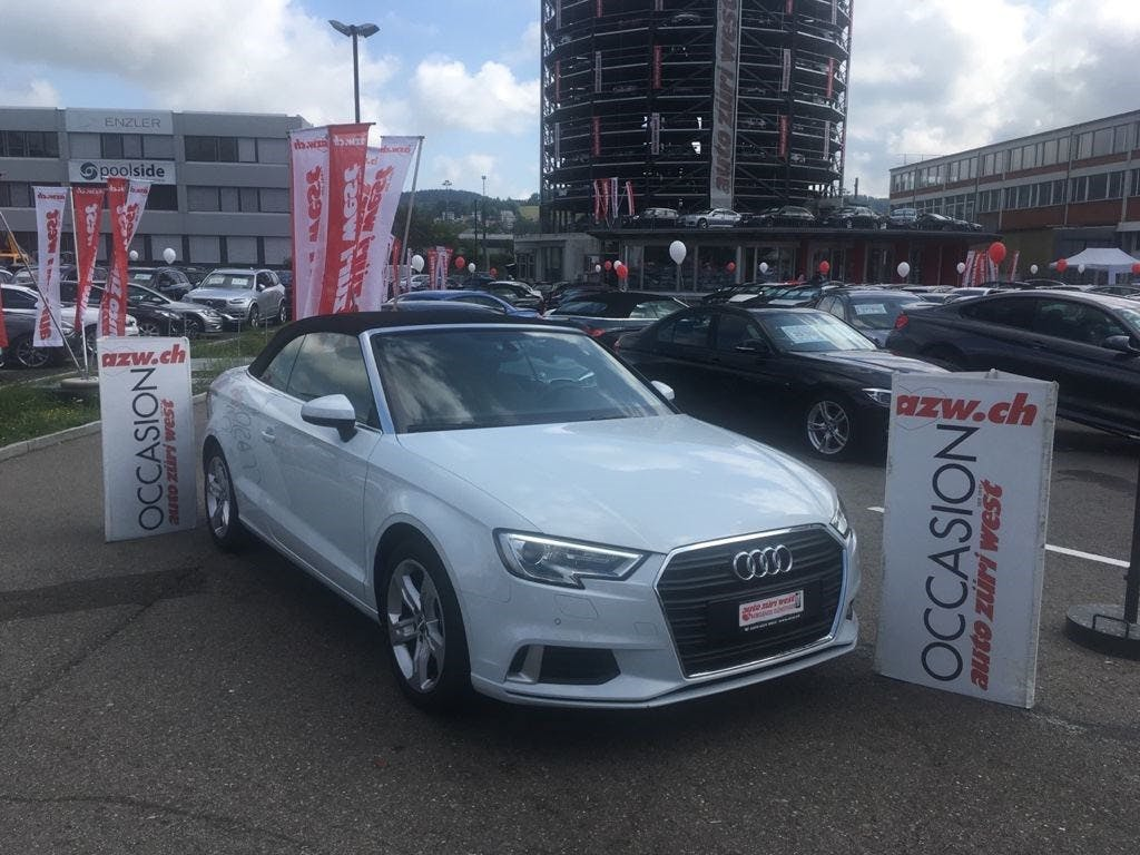 cabriolet Audi A3 Cabriolet 2.0 TDI Sport S-tronic