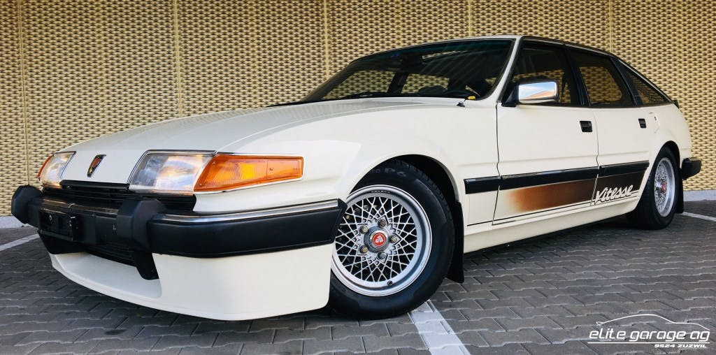 saloon Rover SD 3500 Vitesse Injection