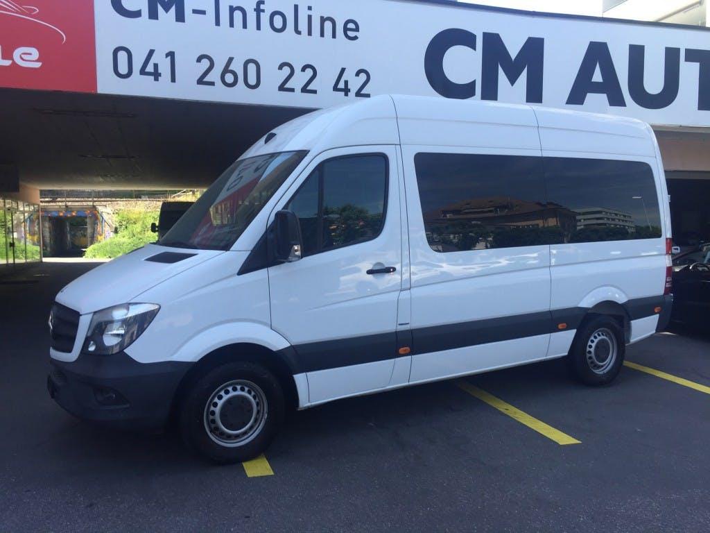 bus Mercedes-Benz Sprinter 216 CDI 3665 mm Radstand 9 Plätze