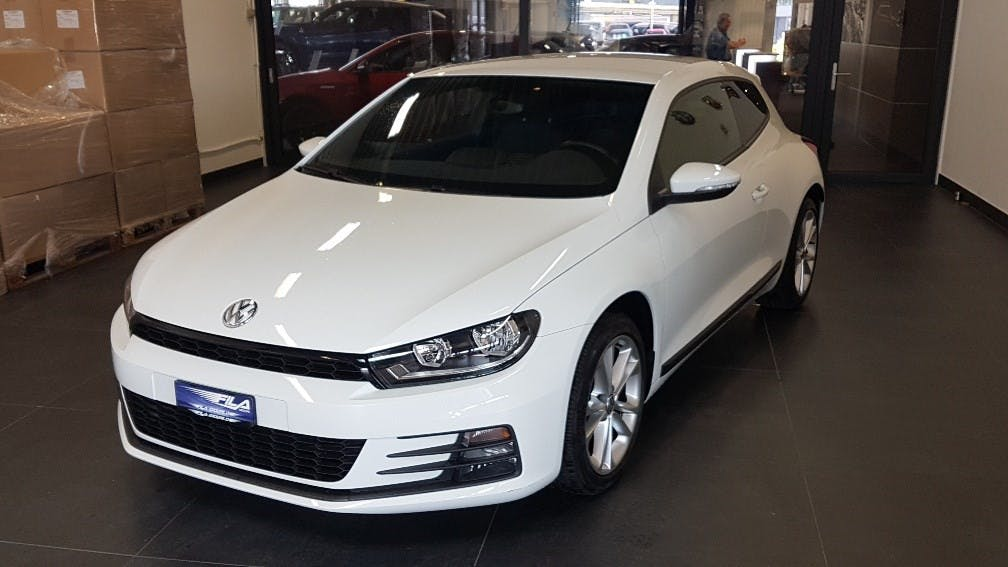 coupe VW Scirocco 2.0 TSI 220 BlueMT