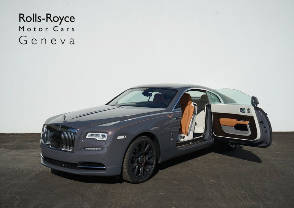 coupe Rolls Royce Wraith Luminary Collection - One of 55