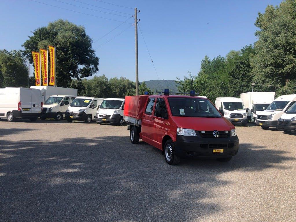 pickup VW T5 2.5 TDI PD 4MOTION Doppelkbaine mit Verdeck