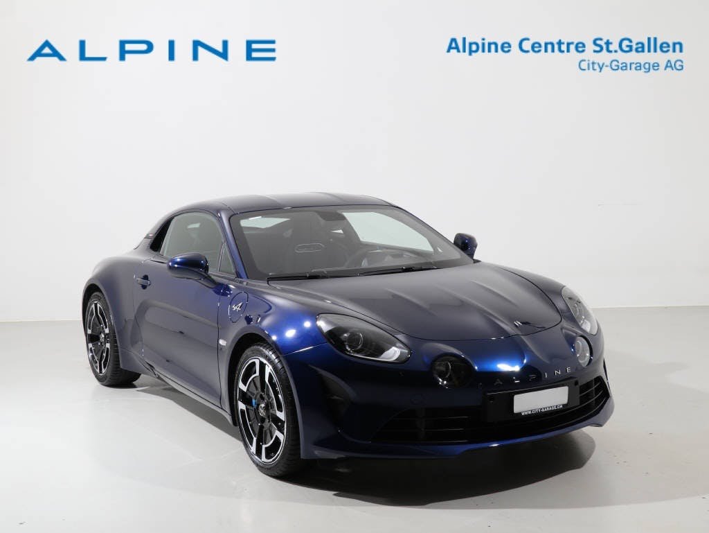 coupe Alpine A110 1.8 Turbo Légende