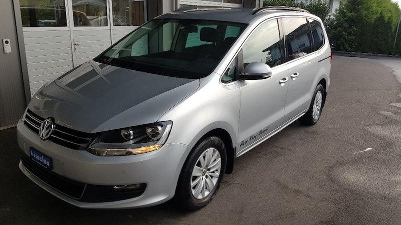 VW Sharan 2.0 TDI BlueMTA Highl. DSG 118'000 km 14'500 CHF - kaufen auf carforyou.ch - 1