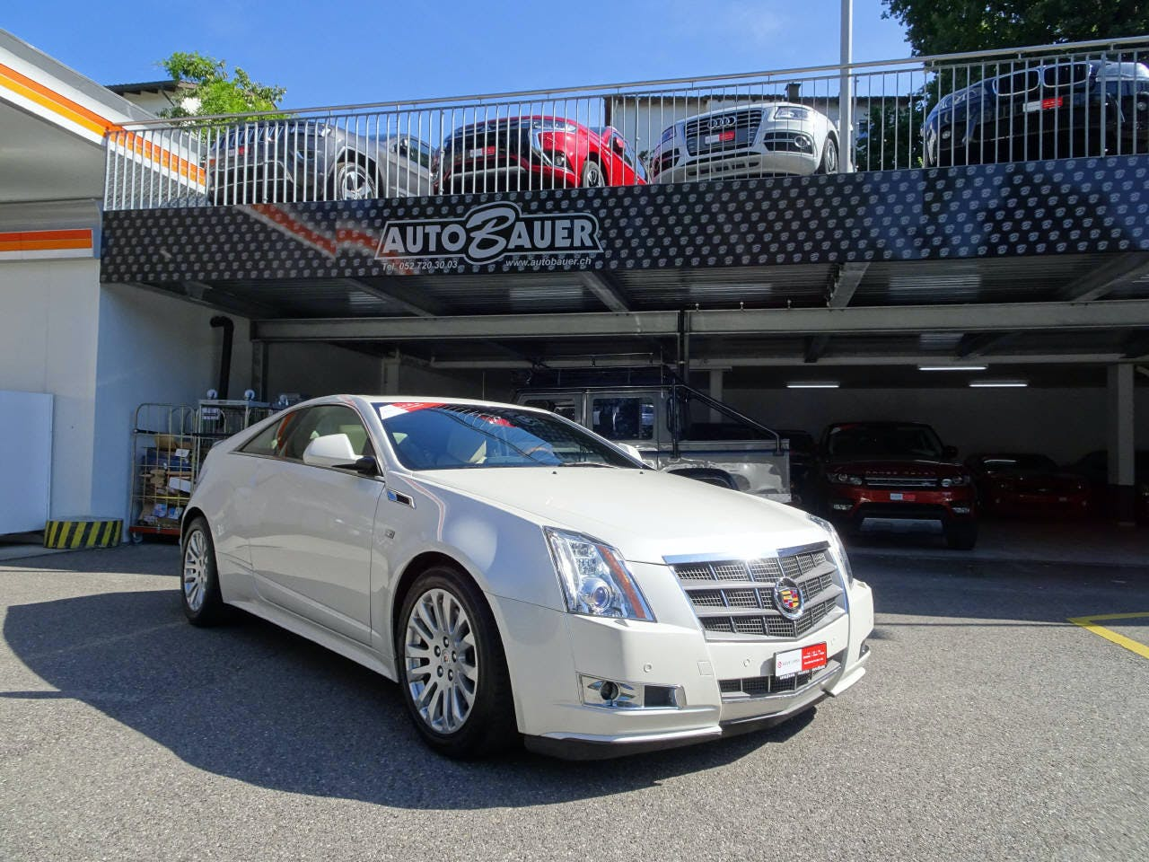 coupe Cadillac CTS Coupé 3.6 Sport Luxury AWD