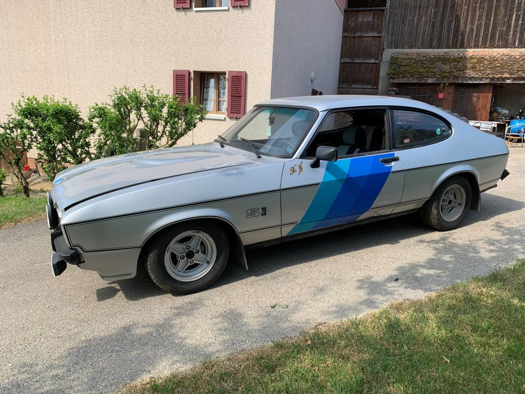 coupe Ford Capri 2300 S (GT)