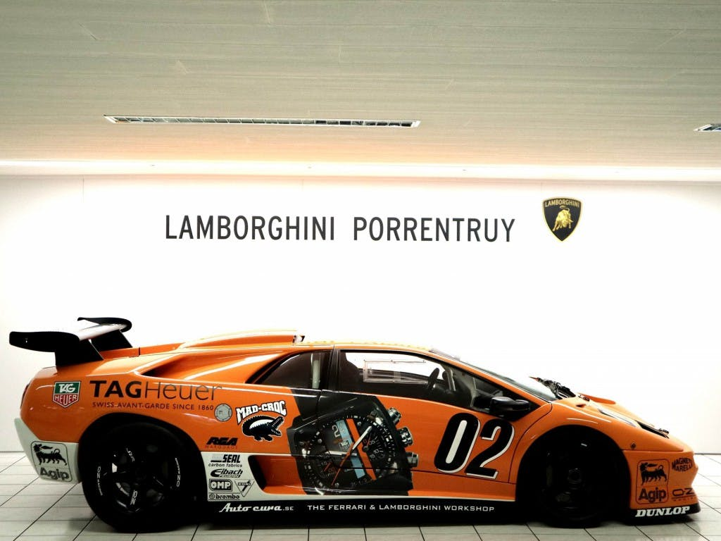 coupe Lamborghini Diablo SV-R