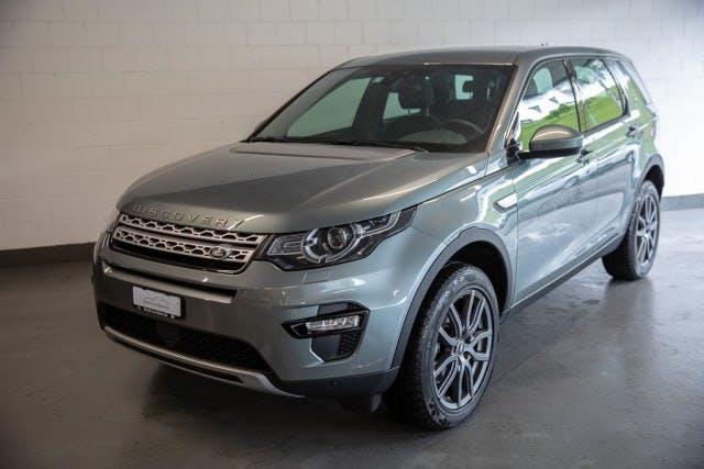 suv Land Rover Discovery Sport Disco. Sport 2.0 Si4 HSE Eintauschprämie CHF 2´000.- oder 2.9% Leasing!