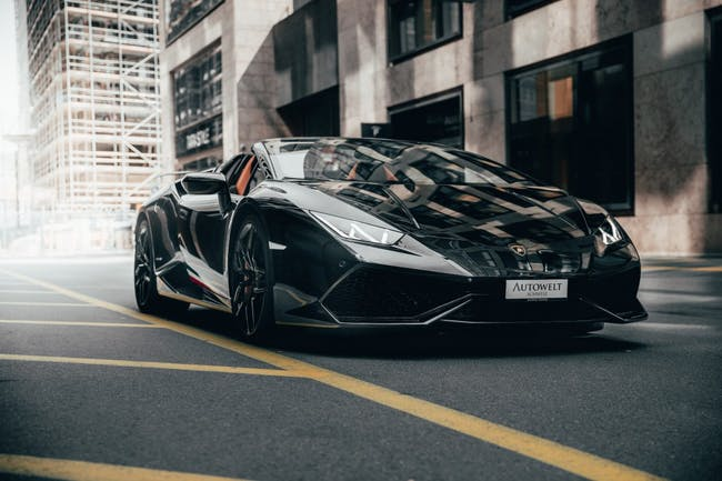 cabriolet Lamborghini Huracan Spyder Perfomante Style