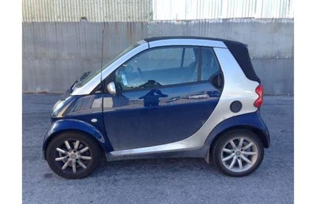 cabriolet Smart Fortwo edition starblue