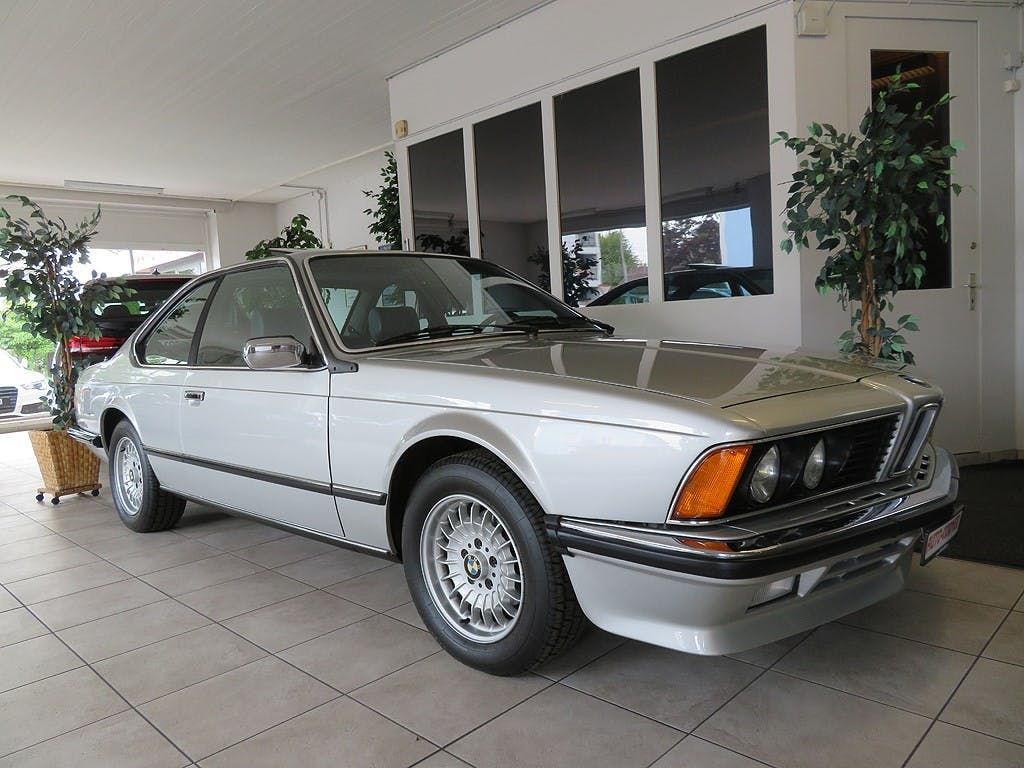coupe BMW 6er 635CSi Coupé Veteran