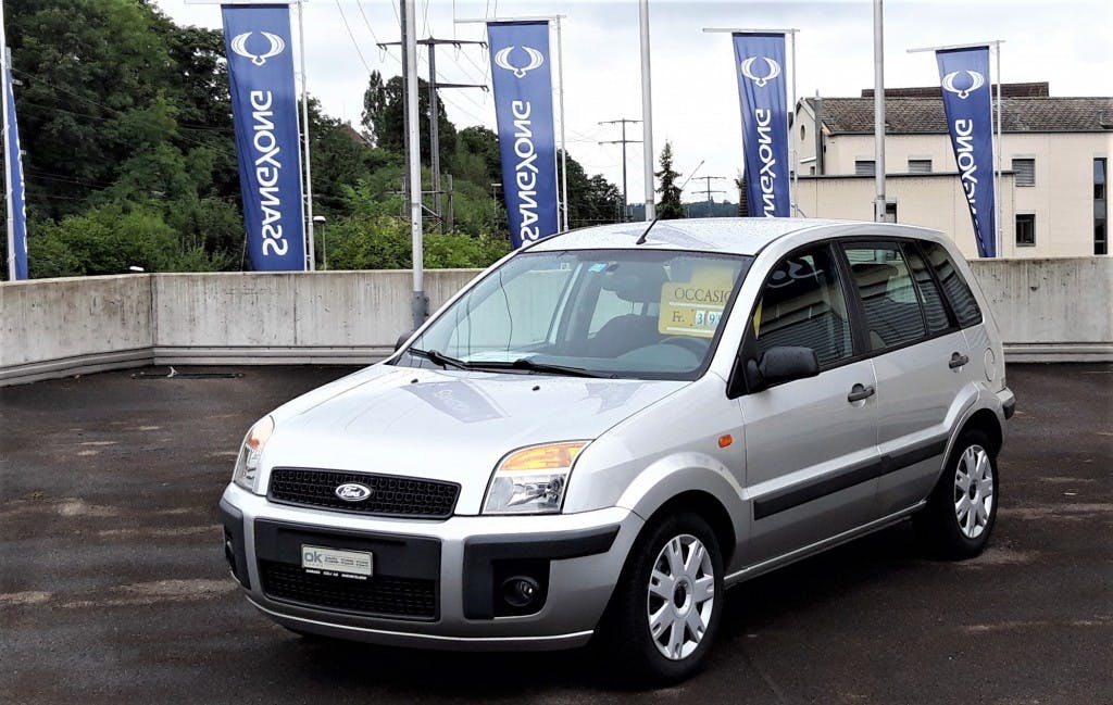van Ford Fusion 1.6 16V Trend Automat