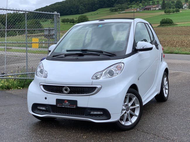 cabriolet Smart Fortwo passion softouch