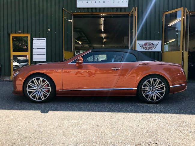 cabriolet Bentley Continental GTC 6.0 V12 Speed