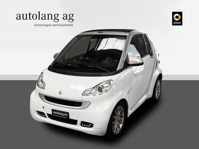 cabriolet Smart Fortwo passion mhd