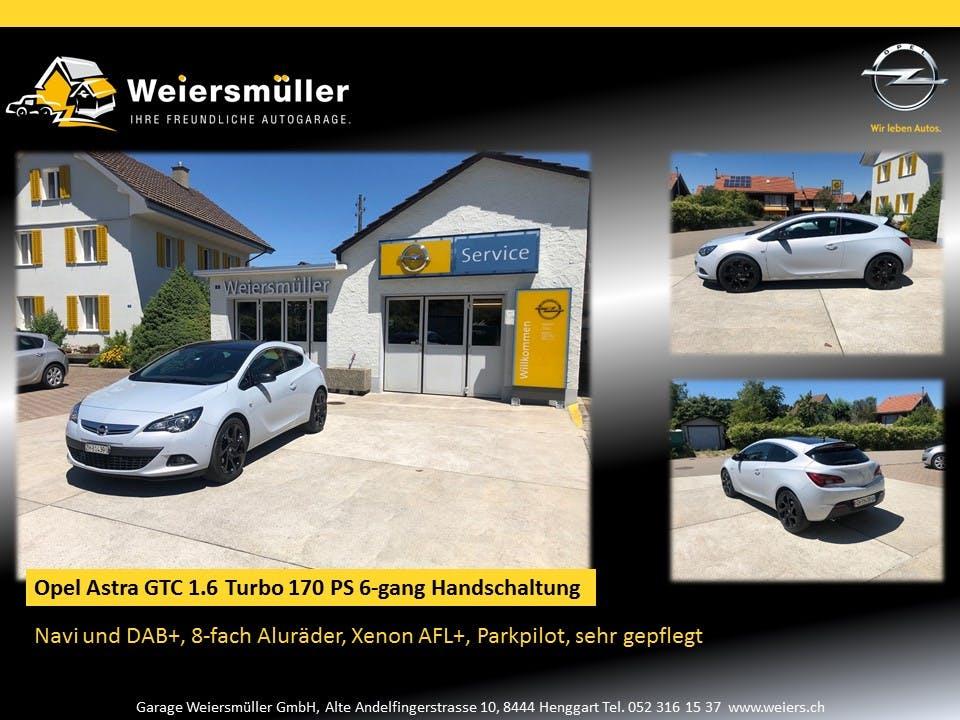 saloon Opel Astra GTC 1.6 T 170 Sport S/S