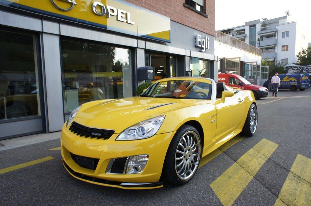 cabriolet Opel GT Delta Motor Optima 295 PS manuell
