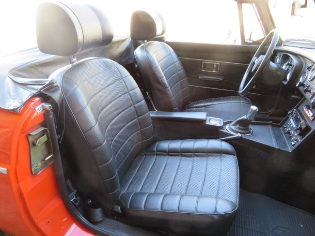cabriolet MG MGB MGB