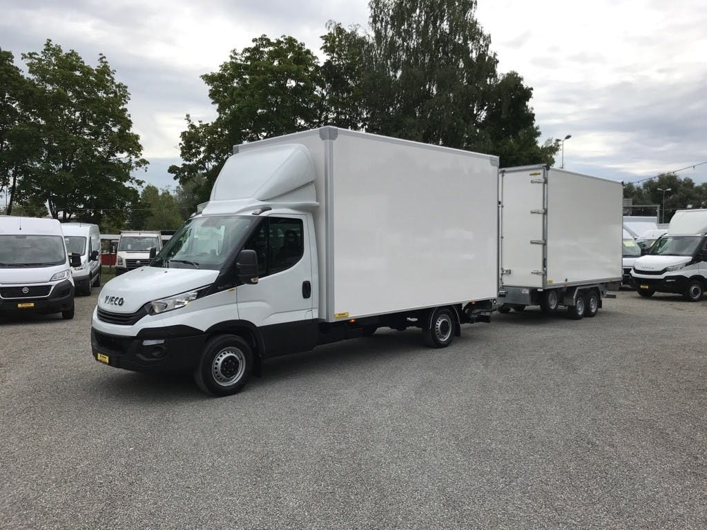 pickup Iveco Daily / Turbo Daily DAILY 35 S 16 Durchlade-System mit Hebebühne