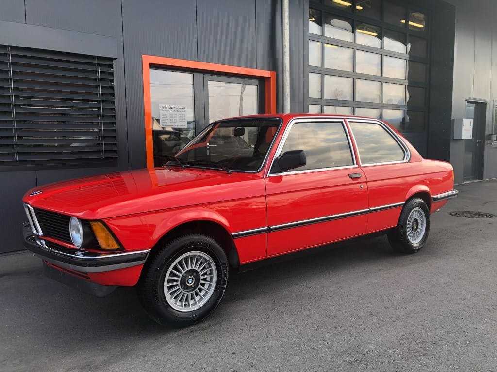 coupe BMW 3er 316 E21