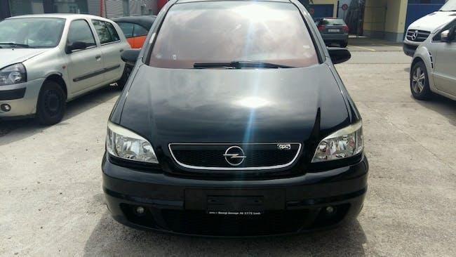 van Opel Zafira 2.0i Turbo OPC