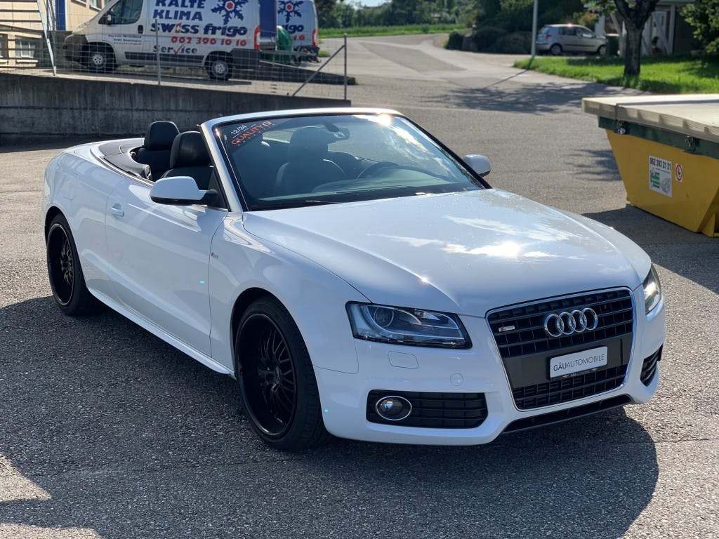cabriolet Audi A5 Cabriolet 2.0 TFSI S-LINE