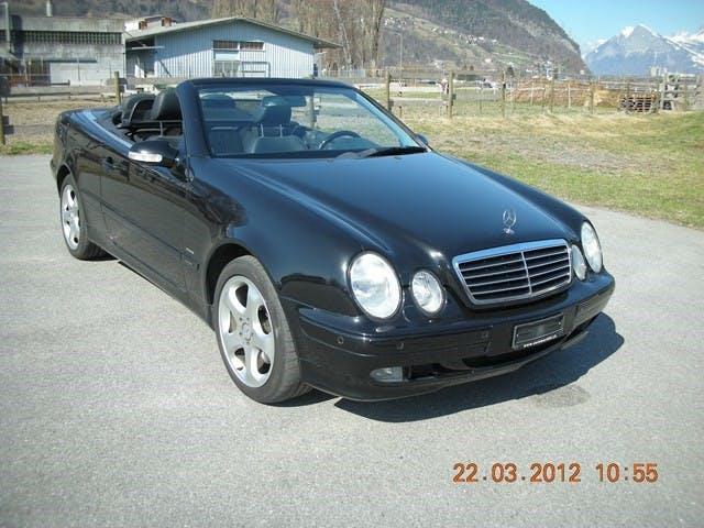 cabriolet Mercedes-Benz CLK 320 Avantgarde Automatic