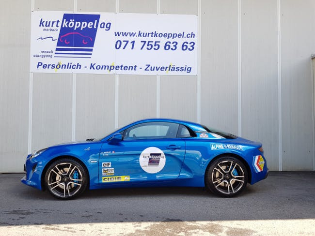 coupe Alpine A110 Alpine Premiére Ed.