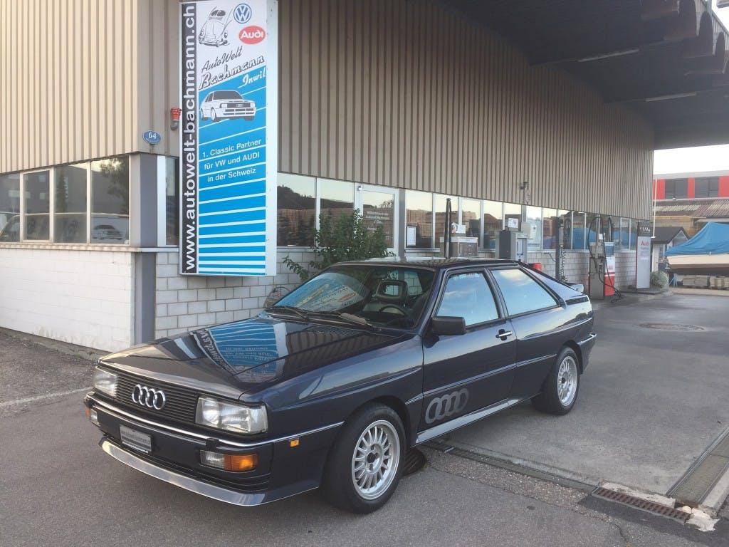coupe Audi Coupé quattro quattro Turbo Spec. Edit.