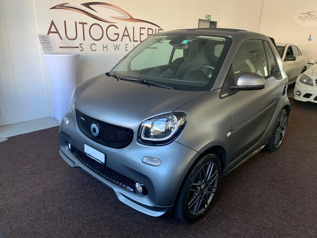 cabriolet Smart Fortwo passion twinmatic * Matt Grau * Brabus Sport * JBL * Cool & Media *