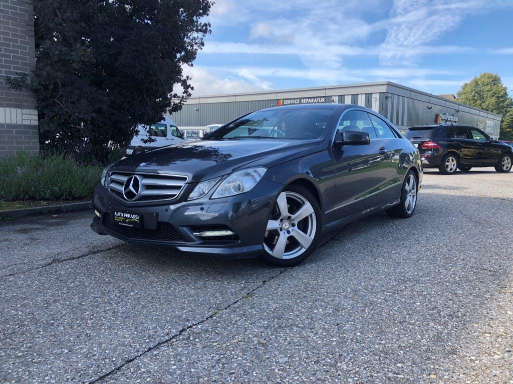 coupe Mercedes-Benz E-Klasse E 220 CDI BlueEfficiency