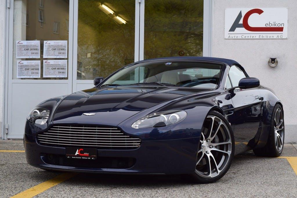 cabriolet Aston Martin V8/V12 Vantage V8 Vantage 4.3 Sportshift