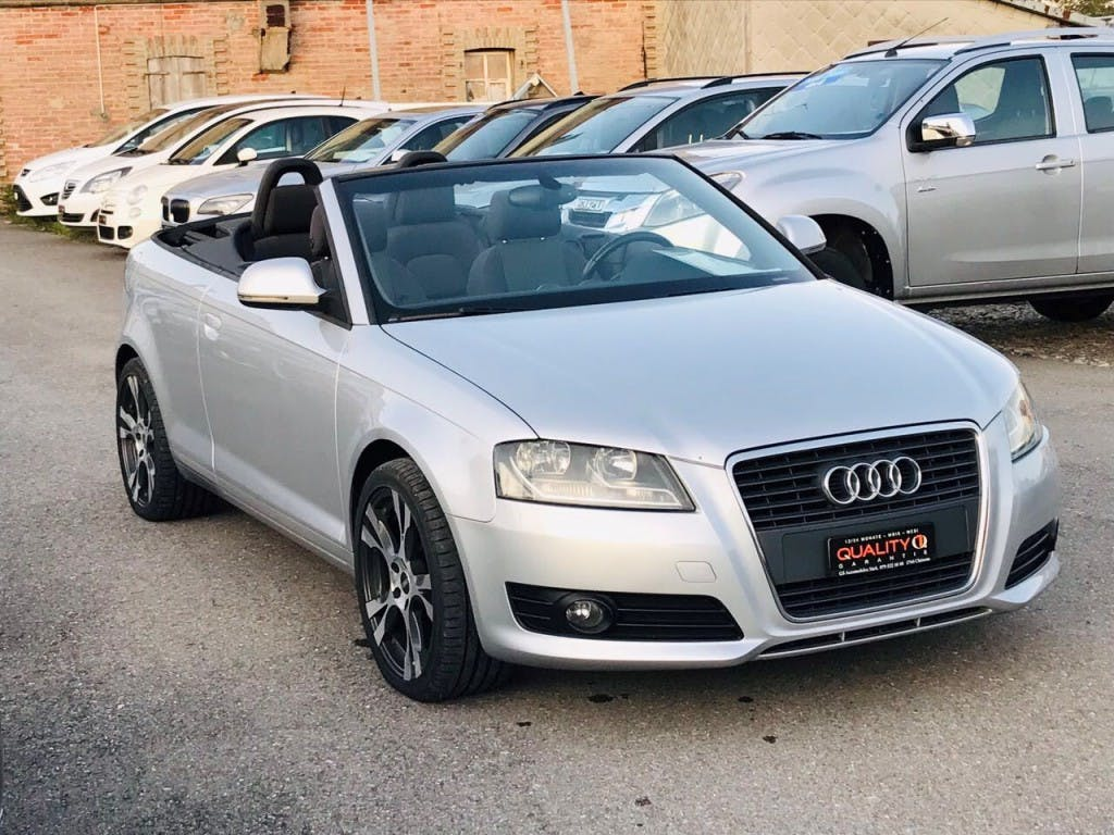 cabriolet Audi A3 Cabriolet 1.8 TFSI Attraction