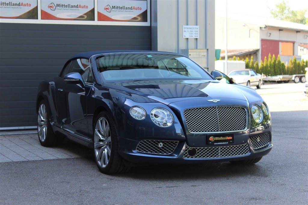 cabriolet Bentley Continental GTC 4.0 V8