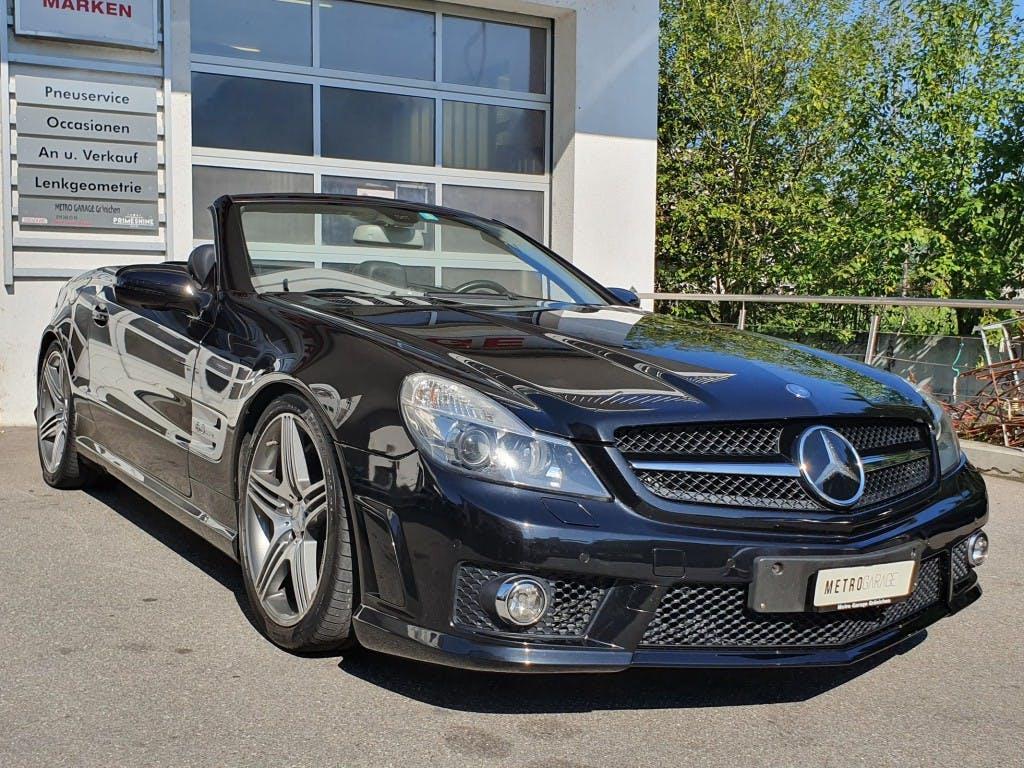 cabriolet Mercedes-Benz SL 63 AMG Speedshift MCT