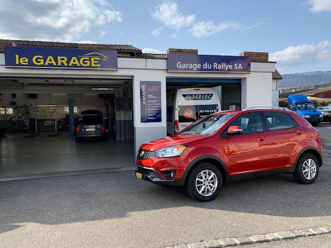 SsangYong Korando 2.0 e-XDi Quartz e3-LowE 4WD 60'100 km CHF14'800 - kaufen auf carforyou.ch - 1