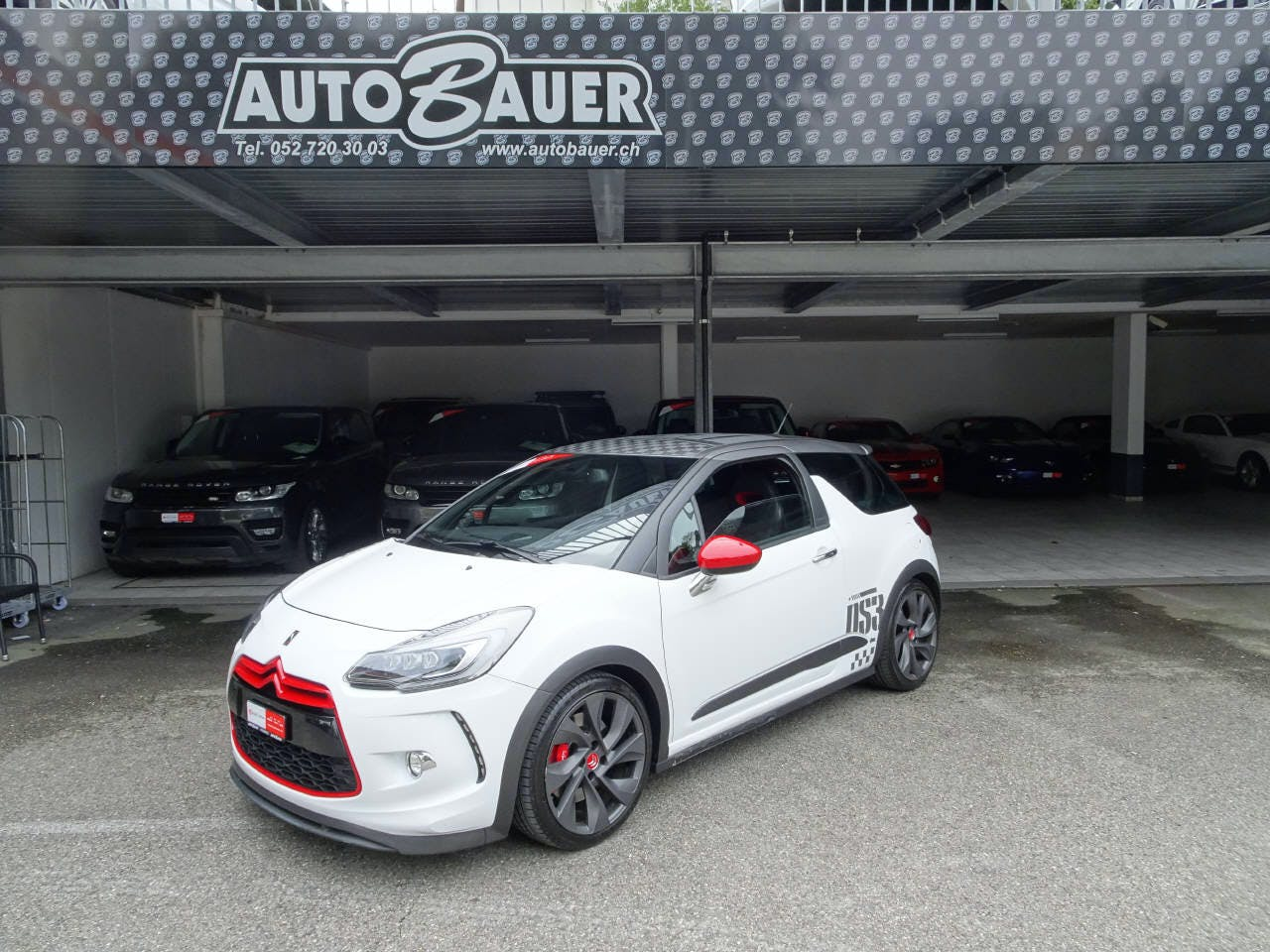 saloon DS Automobiles DS3 1.6 THP 207 Racing