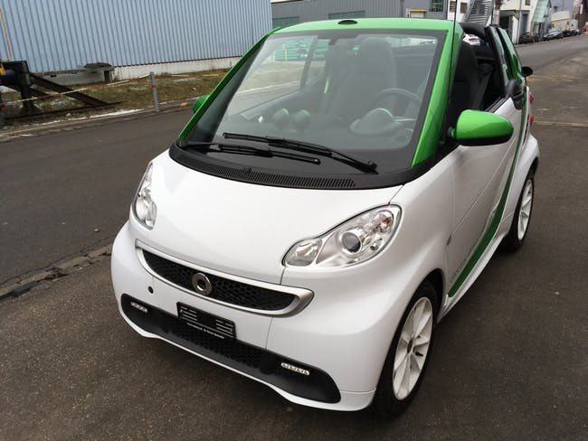 cabriolet Smart Fortwo electric drive