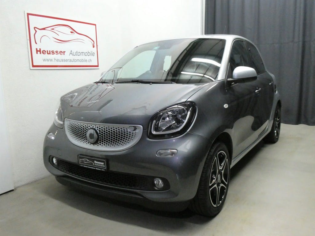 saloon Smart Forfour passion twinmatic - Leder - 90 PS