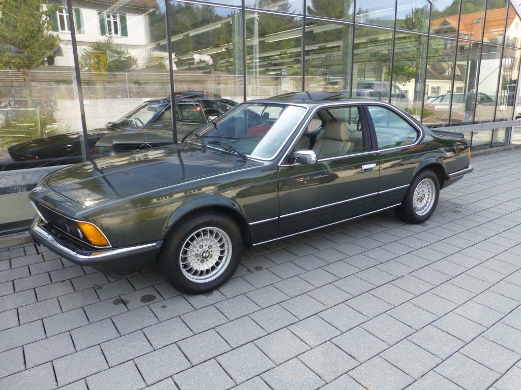 coupe BMW 6er 635CSi