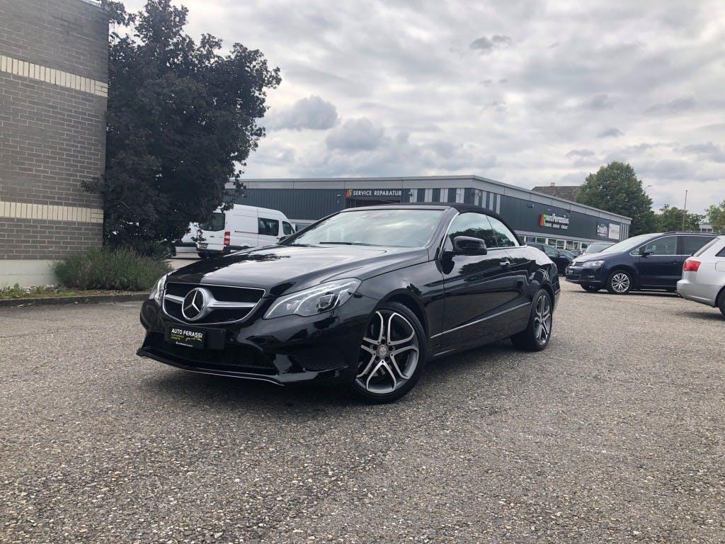 cabriolet Mercedes-Benz E-Klasse E 350 BlueTEC 7G-Tronic