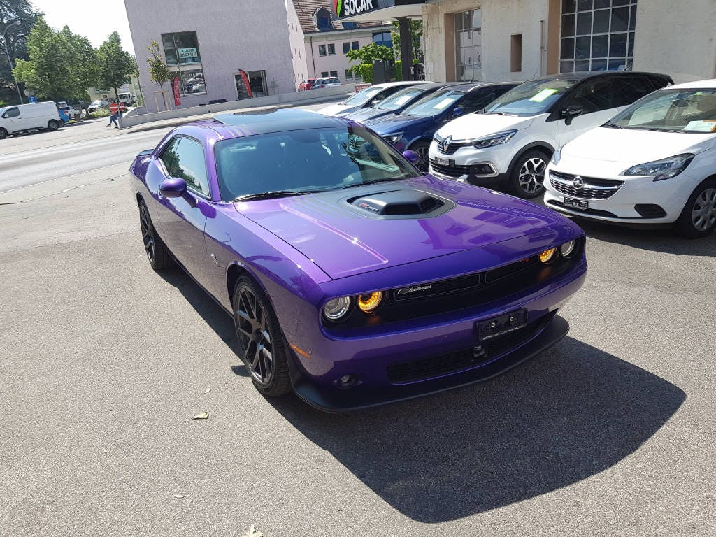 coupe Dodge USA Challenger 392 6.4 R/T SCAT PACK SHAKER