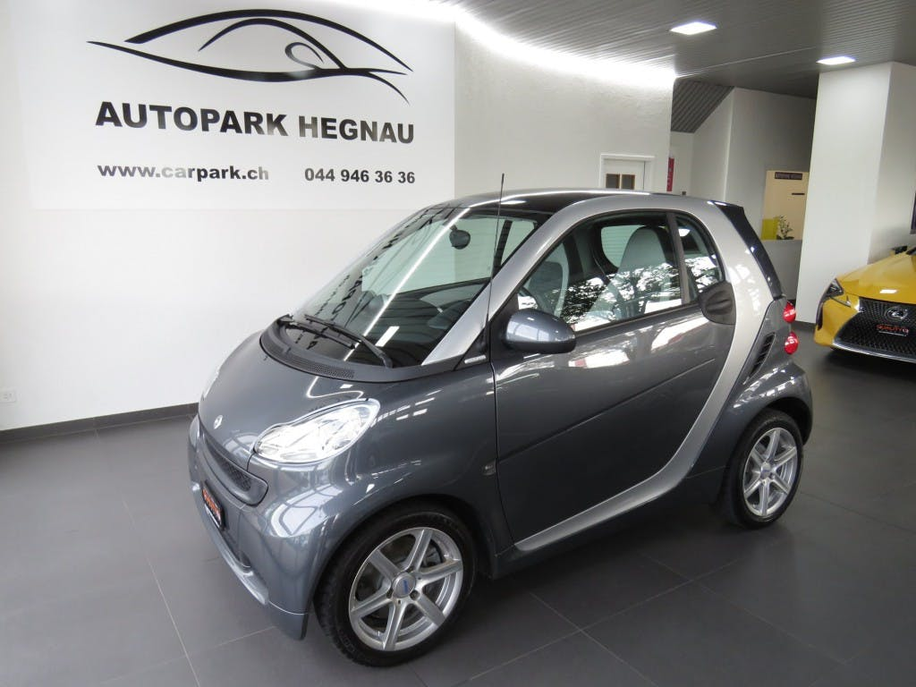 saloon Smart Fortwo pearlgrey mhd softouch