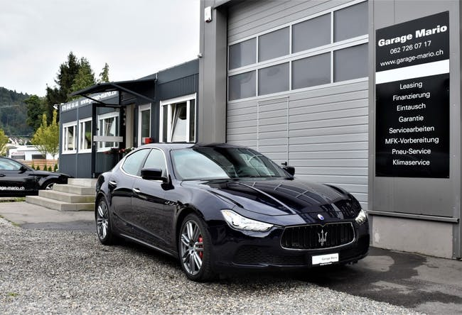 saloon Maserati Ghibli S Q4 3.0 V6 Automatica