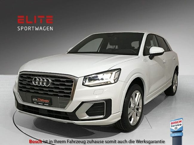 suv Audi Q2 2.0 TDI sport quattro - CH - Abstandsregler