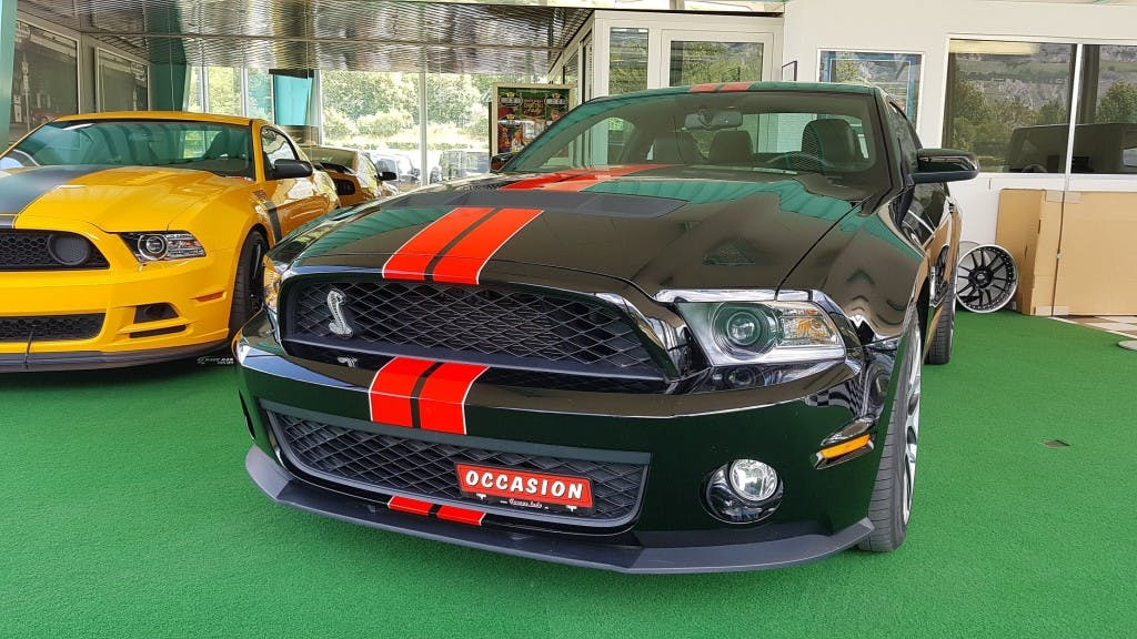 coupe Ford Mustang Shelby GT500