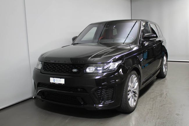 saloon Land Rover Range Rover Sport 5.0 V8 SC SVR