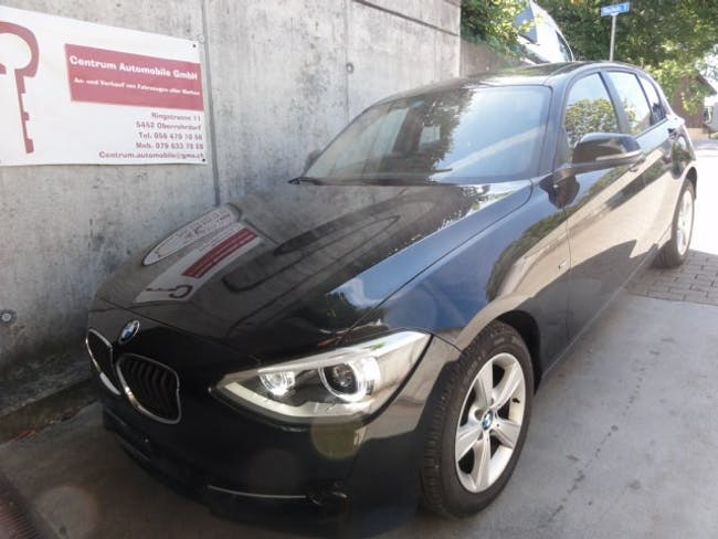 saloon BMW 1er 120d Sport Line Steptronic