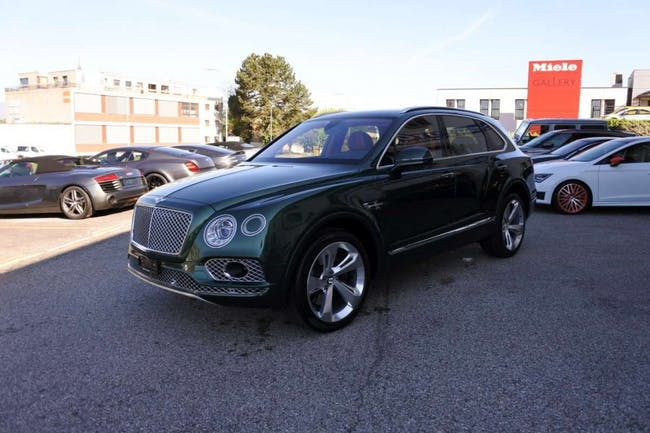 suv Bentley Bentayga W12